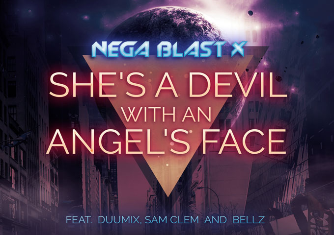 """Nega Blast X: """"She's a Devil with an Angel's Face"""" – an era of pastels, neon and shoulder pads"""