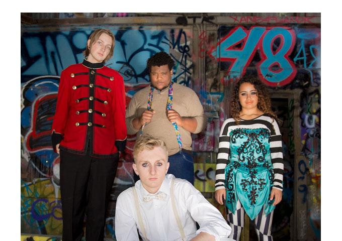 "Alternative rock band Love Ghost have released their debut album ""Lobotomy"""