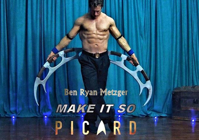 Star Trek Picard Martial Arts Dance Video Starring Ben Ryan Metzger