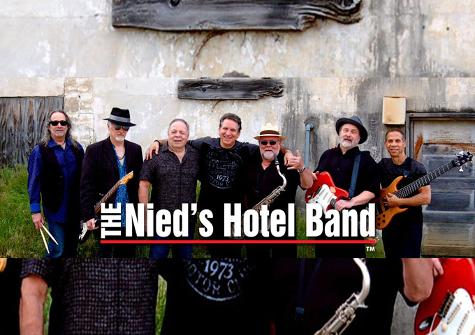 John Vento and The Nied's Hotel Band certify exactly who they are!