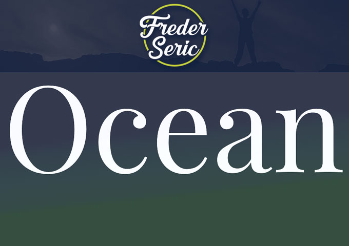 """Freder Seric drops the Video for the motivational summer track – """"Ocean"""""""