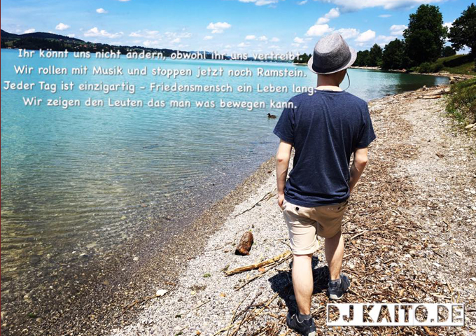 "DJ Kaito – ""Nur so irgendwie"" – lush and poignant"