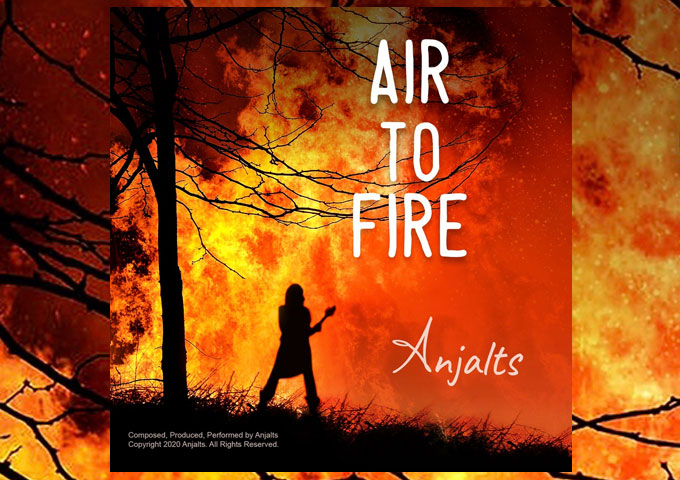 """Anjalts – """"Air To Fire"""" – full of enigmatic luster and breathless, resonating potency!"""