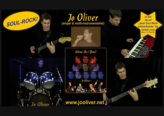 "The Official Video For ""Shine On"" by Multi-Instrumentalist Jo Oliver"