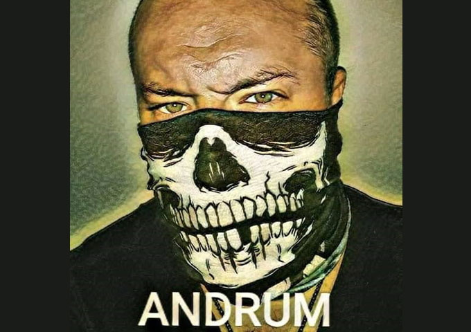 ANDRUM that delivers a blend of influences which include metal, rock, jazz, rap, funk and others