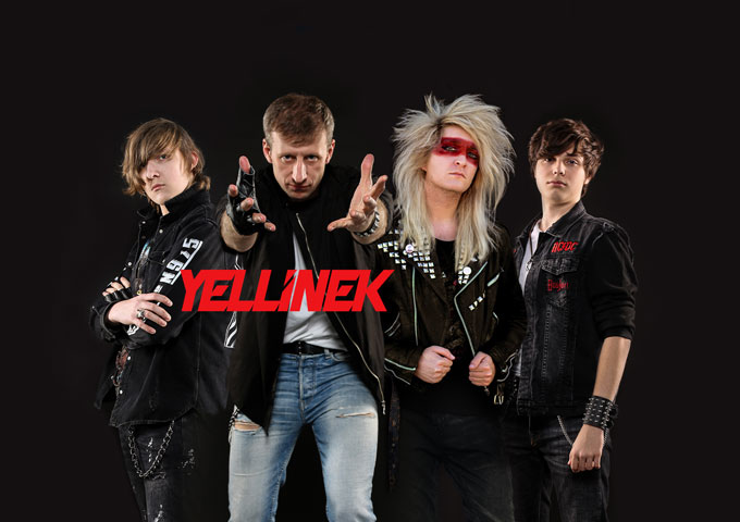 Yellinek play modern rock with referring to the best sounds of 80s