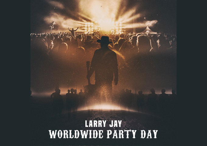 "Larry Jay – ""Worldwide Party Day"" brings his vision for the future to life"