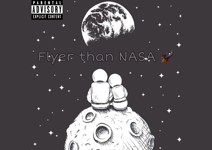 "The Pragmatist expresses himself and his feelings in ""Flyer Than NASA"""