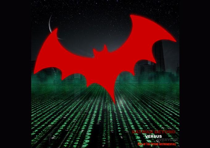 """Skullraiser – """"Batman Beyond Versus Everyone (Bat of the Future)"""" showcases a """"less is more"""" aesthetic"""